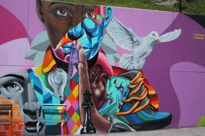 Graffitour: una fiesta de color en Medellín