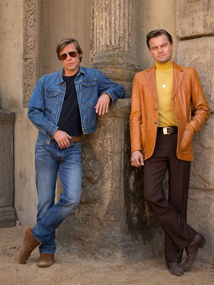 Protagonistas de once upon a time in Hollywood
