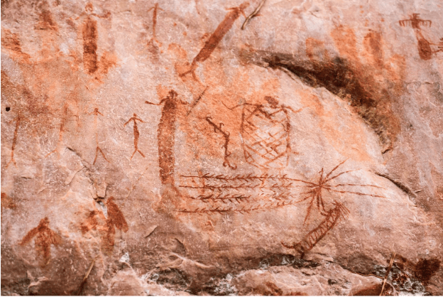 Pintura Rupestre en el Chiribiquete