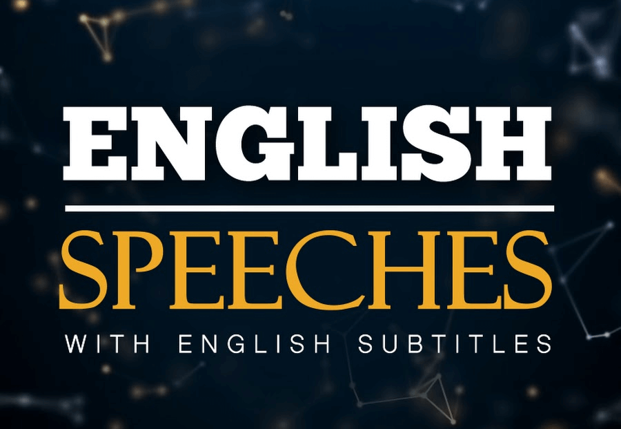 APRENDER INGLÉS CON ENGLISH SPEECHES